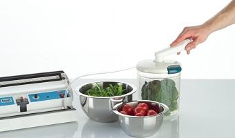 Selbst Salat kann in Sekundenschnelle haltbar gemacht werden